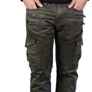Jordan Craig Aaron Twill Biker Pants Slim Straight
